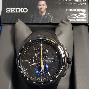 Seiko Men's Coutura Jimmie Johnson Solar SSC697